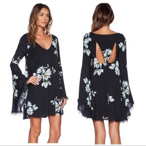 Free People The Wanderer Mini Dress